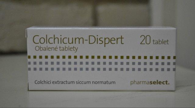 Лечение подагры колхицином: эффективность препарата, свойства