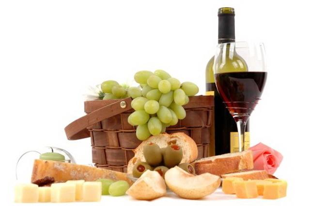 С чем пьют вино - что подходит для красного и белого вина