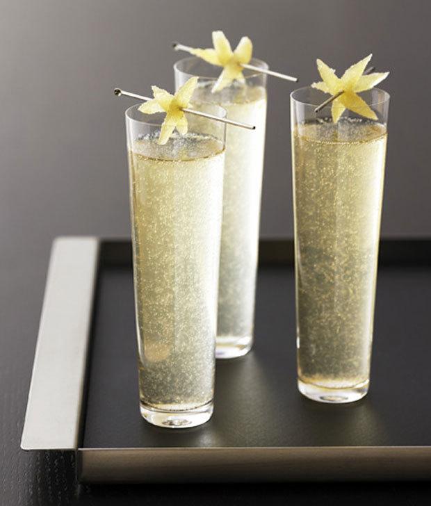 Коктейли с шампанским: рецепты приготовления