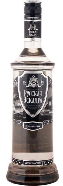 Водка Русская эскадра: обзор, производство, характеристики, цены
