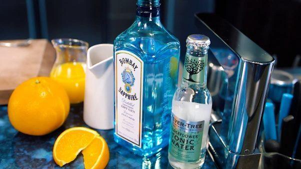 Джин бомбей сапфир: как пить голубой напиток, состав, цена