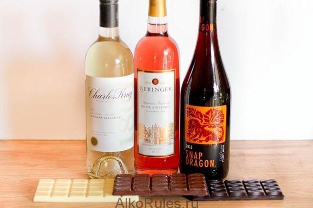 Сколько калорий в вине красном, белом, сухом, столовом и других