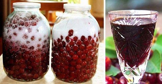 Ликер из вишни в домашних условиях на водке и самогоне