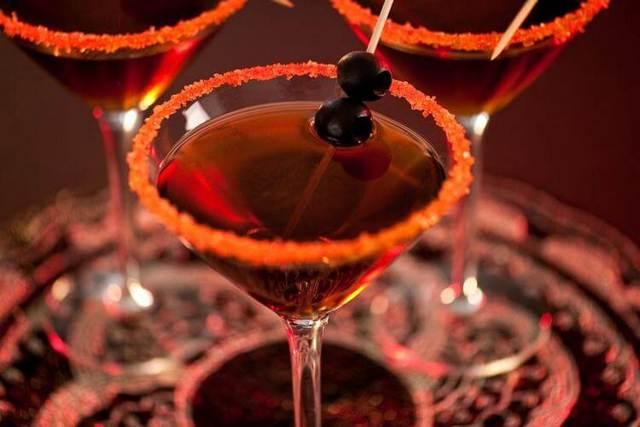 Коктейли на Хэллоуин идеи и примеры напитков на праздник