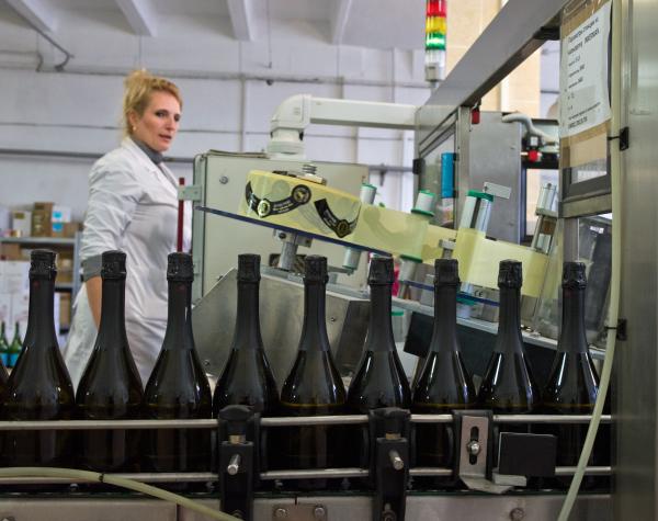 Золотая Балка шампанское, которое производят в Балаклаве, в Крыму