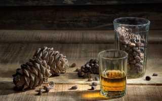 Настойка из скорлупы кедровых орехов на водке: лучшие рецепты