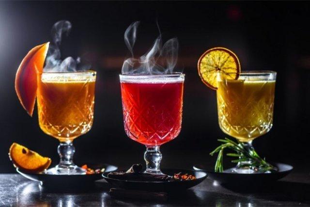 Рецепты безалкогольных согревающих напитков, фото