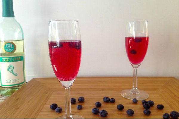 Вино из черники в домашних условиях: рецепт с закваской
