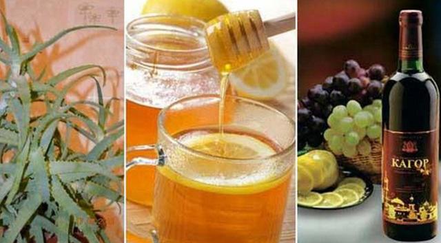 Настойка алоэ мед и кагор применение, рецепты, лечебные свойства