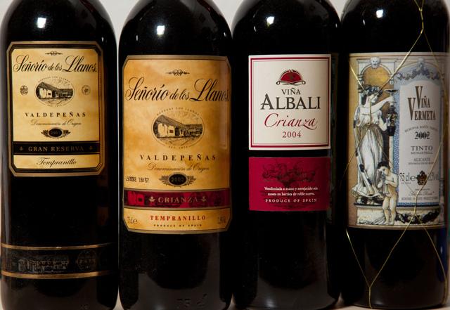 Вино Испании красное сухое, полусухое, полусладкое, белое и другие