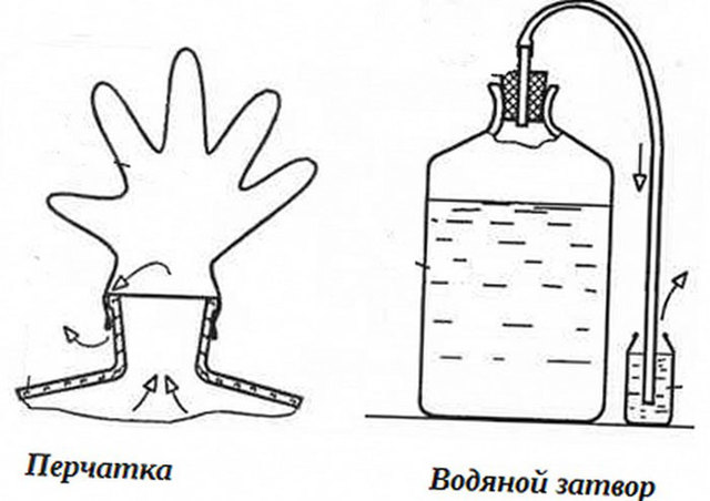Гидрозатвор для брожения: принцип работы и как сделать самому