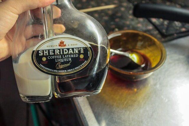Ликер Шериданс кофейный двухслойный как пить, как приготовить