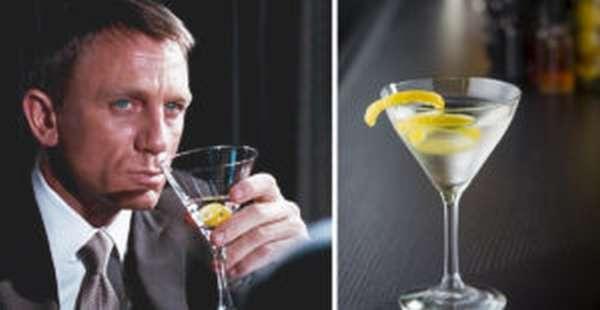 Коктейль Джеймса Бонда: 6 любимых рецептов агента 007