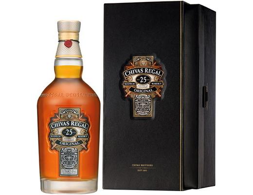 chivas regal 25 лет выдержки виски из Шотландии