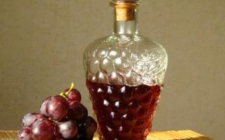 Наливка из винограда: простые рецепты приготовления напитка