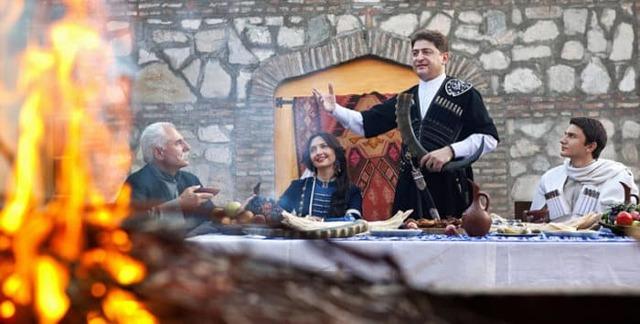 Кавказские тосты и грузинские тосты: смешные, поучительные, поздравительные