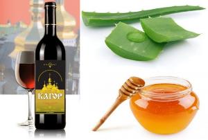Настойка алоэ с медом и водкой рецепт приготовления