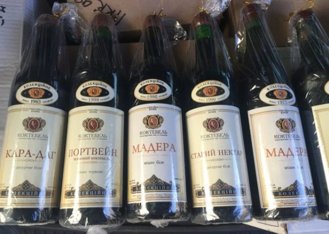 Крымское вино Мерло красное сухое и другие вина Крыма