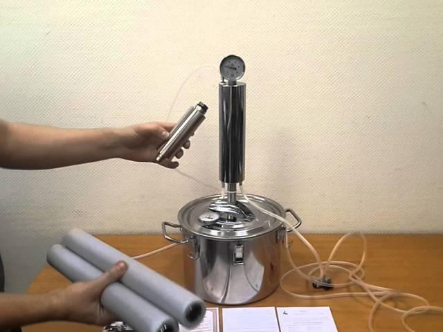 Царга для самогонного аппарата: функции и применение, как сделать
