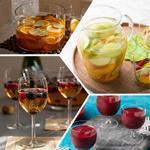 Коктейли с вином: на основе белого, красного вина, сока, колы