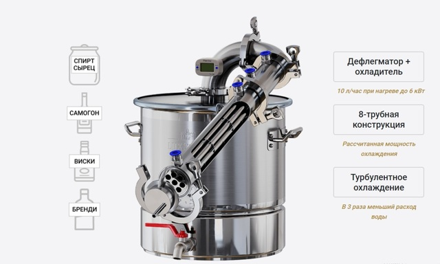 Люкссталь 5 самогонный аппарат отзывы, характеристики