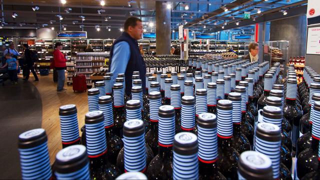 Дьюти фри алкоголь в этих магазинах продают качественный