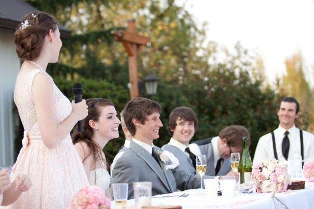 Свадебные тосты и поздравления должны быть особо красивыми и запоминающимися