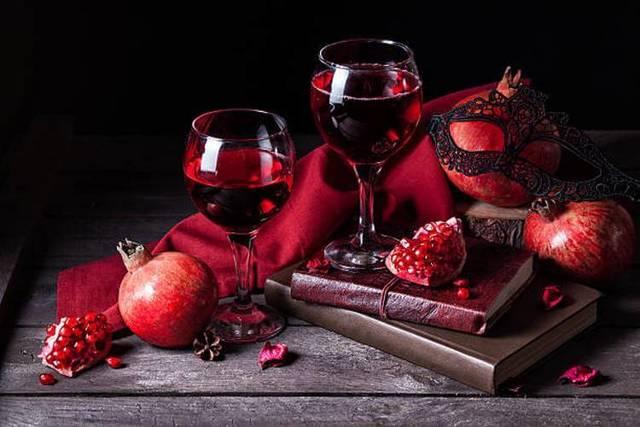 Вино из граната в домашних условиях: рецепты приготовления