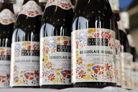 Божоле нуво 2019-2020 французский праздник виноделия